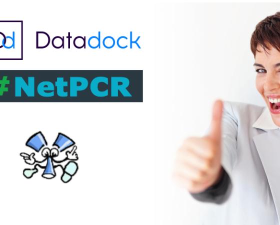 Datadock, NetPCR référencé et validé